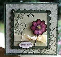 CASE with fabric flower....