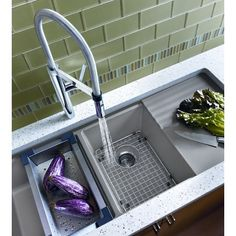 Modern, multi-level kitchen sink design from @blancoamerica. See more on Modenus: #BLANCOOnModenus