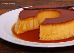 Simple & Easy Portuguese Vanilla Pudding (Pudim de Baunilha) - Easy Portuguese Recipes