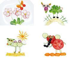 Ako do detí dostať zeleninu? Vtipnou úpravou na tanieri. 20 veselých nápadov - AhojMama.sk Yoshi, Fictional Characters, Fantasy Characters