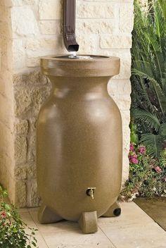 Rain Barrel 75 Gallons - Rain Water Barrel - Decorative Rain Barrels #pergoladesigns