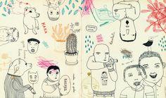 Colaboración revista The Balde by Leire Salaberria
