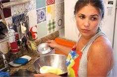 Tatiana Scartezini Al Makul, cozinhando