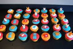 cup of cake: Koninginnedag cupcakes!