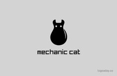 Mechanic Cat | All My Cat Logos