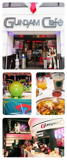 Gundam Café - Akihabara, Tokyo