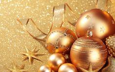 Золотые новогодние обои на рабочий стол. Обсуждение на LiveInternet - Российский Сервис Онлайн-Дневников