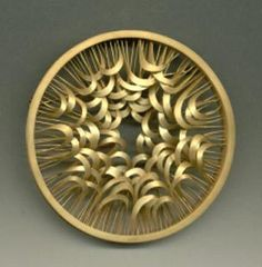 JACQUELINE RYAN-UK- brooch 2000 - 18kt gold Always has been one of my favorite goldsmiths.