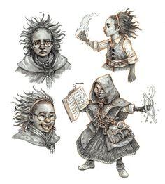 Little mage studies by eoghankerrigan on DeviantArt