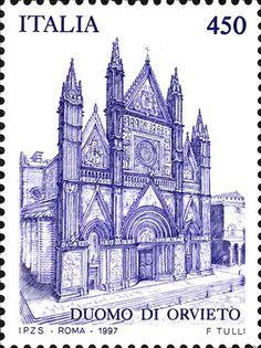 Italy Stamp 1997- Duomo Di Orvieto