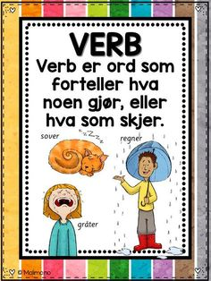 Browse educational resources created by Malimo - norsk undervisningsmateriell in the official Teachers Pay Teachers store. Teaching Kids, Kids Learning, Swedish Language, Classroom Posters, School Subjects, Too Cool For School, Kids And Parenting, Kindergarten, Teacher