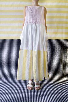 Daniela Gregis sleeveless dress 20.07.2012 double