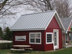 Galvalume Plus Standing seam metal roof, tiny house