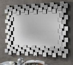 Espejo cristal aqua