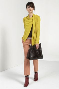 DVF Pre-Fall 2012 - love the sweater, but not with those pants