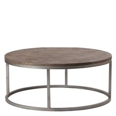 I love the simple silhouette of this round coffee table. I am also loving hexagons right now so the detail of the reclaimed wood top makes it even more fabulous. Dress this coffee Table up or down. Wh