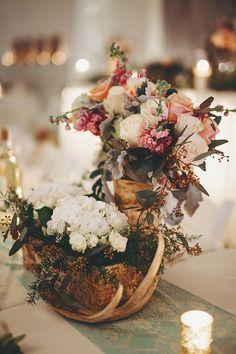 rustic wedding centerpiece Next Wedding, Wedding Prep, Perfect Wedding Dress, Dream Wedding Dresses, Designer Wedding Dresses, Wedding Flowers, Wedding Stuff, Fall Wedding Decorations, Rustic Wedding Centerpieces