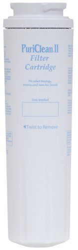 Maytag UKF8001AXX PuriClean II Refrigerator Cyst Reducing Water Filter, 1-Pack (Discontinued by MFG 2009) by Maytag. $33.07. From the Manufacturer                This filter was discontinued by Manufacturer in 2009, there is a newer version available.  This Refrigerator Water Filter is used in Maytag and Jenn-Air refrigerators with filter access inside the refrigerator. Simply turn the Refrigerator Water Filter to remove and replace. While retaining beneficial ...