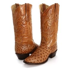 BootDaddy Collection with Corral Antique Full Quill Ostrich Cowboy Boots