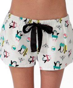Penguin PJ Shorts <3
