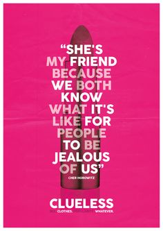Clueless Quote A3 Poster on Etsy, £10.00