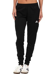 adidas all black soccer pants