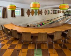 Mid-Century Bowling Alley in Minnesota