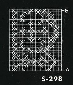Alb Lace No. S298 Pattern chart