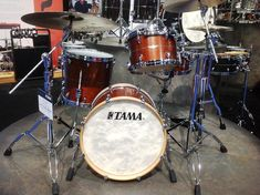 Steve Maxwell - Vintage and Custom Drums - Tama's new STAR series.
