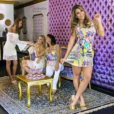 Vestido Isabella / Cropped Bianca + Saia Renda / Blusa Chiffon + Mini Flare Renda / Vestido Marilia
