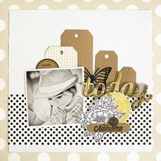 Must Have Products for every Scrapbooking Project: Pioneer Jumbo Scrapbook Storage Box: IRIS Large Photo and Craft Keeper: me & my BIG ideas by Paper Bag Scrapbook, Baby Scrapbook Pages, Birthday Scrapbook, Kids Scrapbook, Scrapbook Designs, Scrapbook Journal, Scrapbook Sketches, Scrapbook Page Layouts, Scrapbook Supplies