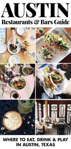 Austin restaurants & bars guide: Learn where to eat, drink and play in Austin, Texas! cookieandkate.com billiardfactory.com