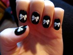 I would do a different color than black for spring... like pink or orange. I love the bows though!