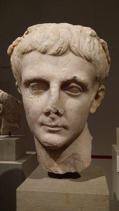 Drusus the Elder, son of Livia & Augustus' stepson; marble, 25-50 AD, Altes Museum Berlin