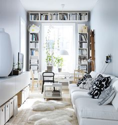 Small spaces. Idei indraznete pentru spatii mici si inguste.