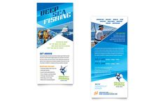 Rack Card Template Word Best Of Fishing Charter & Guide Brochure Template Design Pamphlet Template, Letterhead Template, Brochure Template, Free Printable Card Templates, Printable Cards, Personalized Greeting Cards, Rack Card, Layout, Charts