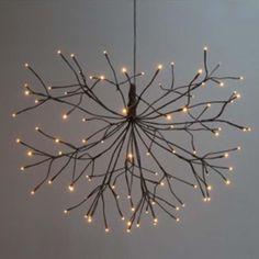 Twig Lights, Lighted Branches, Ball Lights, Fairy Lights, Ceiling Lights, Coastal Lighting, Farmhouse Lighting, Lounge Lighting, Cabin Lighting