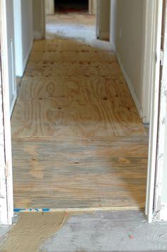 Plywood Floors Over Concrete From Cactus Canyon Blog