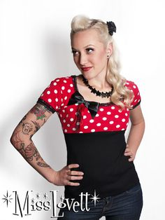 http://www.etsy.com/listing/74397695/red-sweetheart-polka-dot-shirt-with-pin?ref=sr_gallery_26&ga_search_submit=&ga_search_query=red+polka+dot+top&ga_view_type=gallery&ga_ship_to=US&ga_page=9&ga_search_type=all&ga_facet=    PERFECT!  With Jeans, Layers, and a great coat!