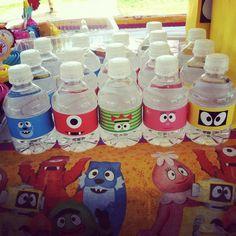 Yo Gabba Gabba PRINTABLE water bottle by sweetcreationsforyou, $4.50