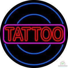 Tattoo Neon Sign Real Neon Light