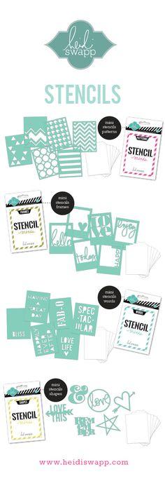 BlogSneakPeeks_Stencils #PaperBakeryDTDreamKit