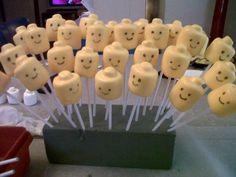 Lego Cake Pops :)