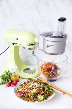 Use the kitchenaid food processor attachment to dice slice shred rainbow farro salad using the kitchenaid food processor attachment forumfinder Image collections