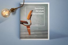 Interior Design Brochure by Leone Danieli on @creativemarket