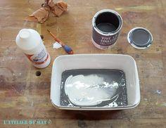 Melange medium et peinture