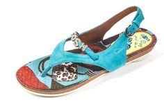 POP blue sandal