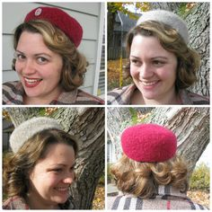 Knitted felted pillbox hat pattern Call the Midwife! http://www.ravelry.com/patterns/library/midwife-calling-felted-pillbox-hat