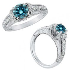 1-Carat-Blue-Diamond-Beautiful-Fancy-Wedding-Anniversary-Ring-14K-White-Gold
