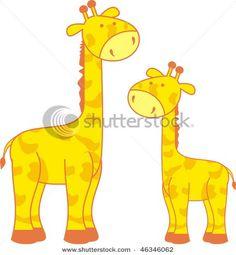 Cartoon Giraffe In Vector Format Very Easy To Edit Stock http://www.flappybirdgamer.com/
